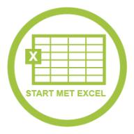 Start met Excel
