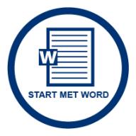 Start met Word